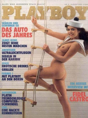 Playboy Germany - August 1985