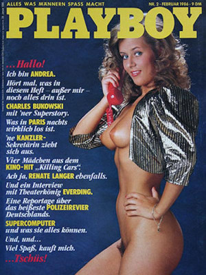 Playboy Germany - Feb 1986