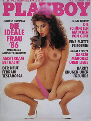 Playboy Germany - March 1986