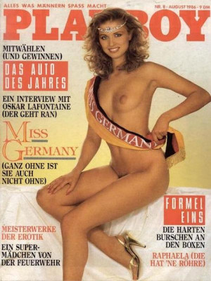 Playboy Germany - August 1986