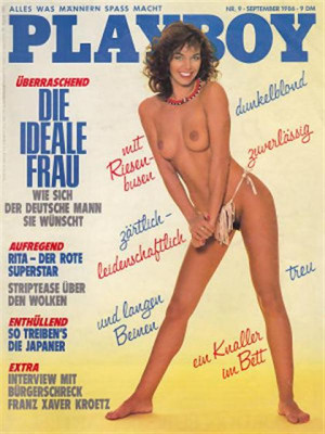 Playboy Germany - Sep 1986