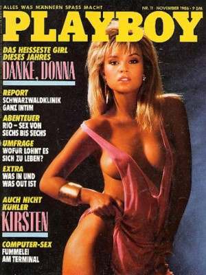 Playboy Germany - Nov 1986