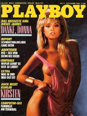 Playboy Germany - Nov 1986