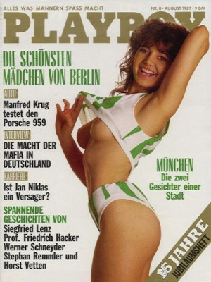Playboy Germany - August 1987