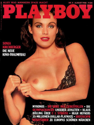 Playboy Germany - August 1988