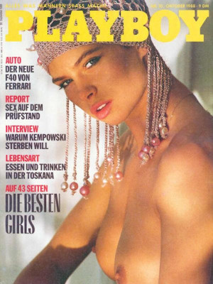 Playboy Germany - October 1988