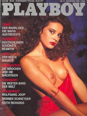 Playboy Germany - Nov 1988