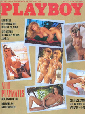 Playboy Germany - January 1989