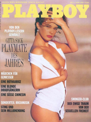 Playboy Germany - June 1989