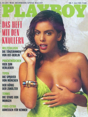 Playboy Germany - July 1989