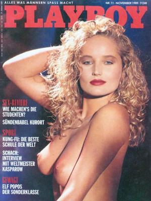 Playboy Germany - Nov 1989