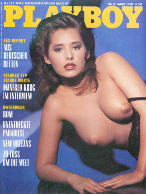 Playboy Germany - March 1990
