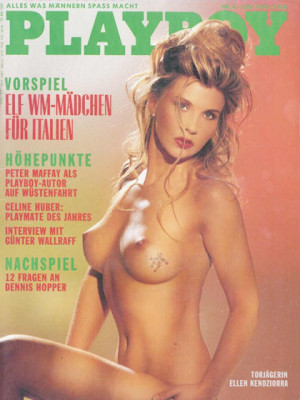 Playboy Germany - June 1990