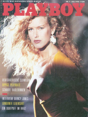 Playboy Germany - July 1990
