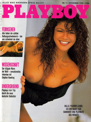 Playboy Germany - Nov 1990