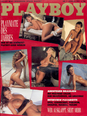 Playboy Germany - January 1991