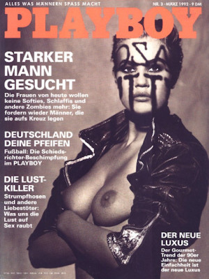 Playboy Germany - March 1992