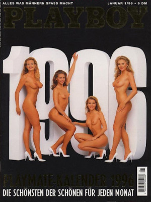 Playboy Germany - January 1996