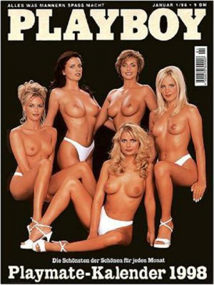 Playboy Germany - January 1998