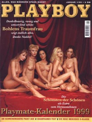 Playboy Germany - January 1999