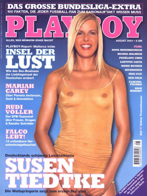 Playboy Germany - August 2001