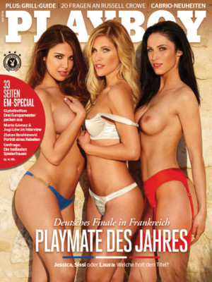 Playboy Germany - June 2016