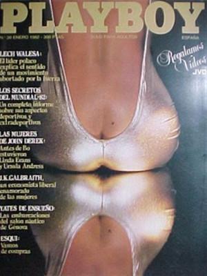 Playboy Spain - January 1982