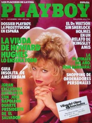 Playboy Spain - Nov 1984