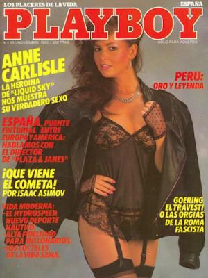 Playboy Spain - Nov 1985