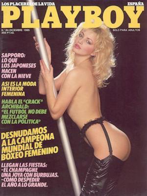 Playboy Spain - Dec 1985