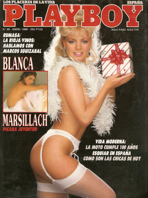 Playboy Spain - January 1986