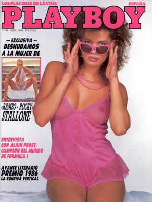 Playboy Spain - April 1986