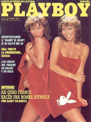 Playboy Spain - Sep 1986
