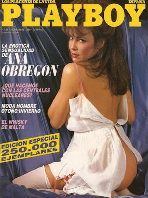 Playboy Spain - Nov 1986