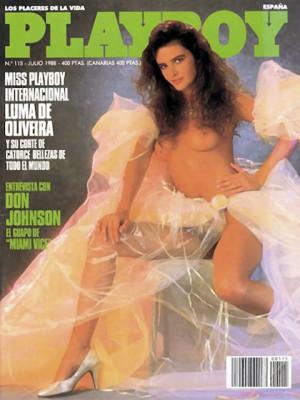 Playboy Spain - July 1988