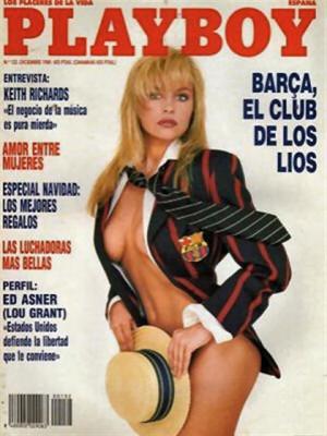 Playboy Spain - Dec 1989