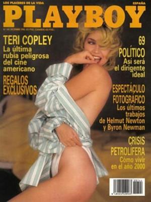Playboy Spain - Dec 1990