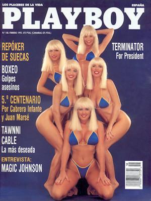 Playboy Spain - Feb 1992