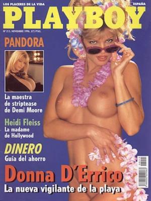 Playboy Spain - Nov 1996