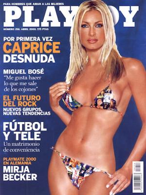Playboy Spain - April 2000
