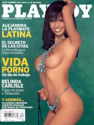 Playboy Spain - October 2001