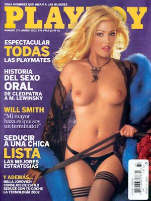 Playboy Spain - January 2002