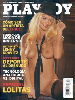 Playboy Spain - Nov 2002
