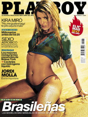 Playboy Spain - April 2008