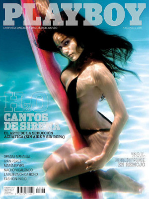 Playboy Spain - August 2008