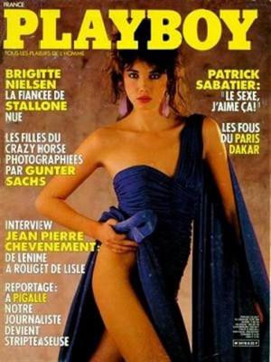 Playboy Francais - Dec 1985