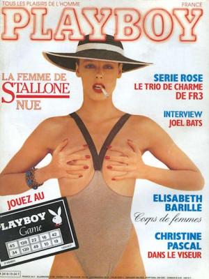 Playboy Francais - Oct 1986