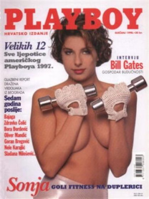 Playboy Croatia - Jan 1998