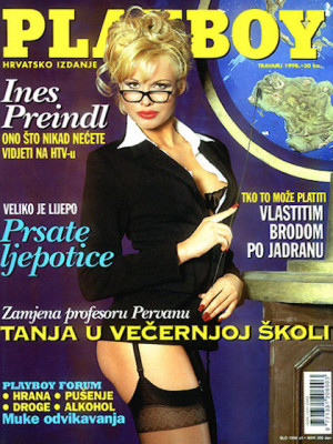 Playboy Croatia - April 1998