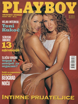 Playboy Croatia - Sep 1998